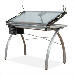 Art Fusion Craft Station in Silver - Easels