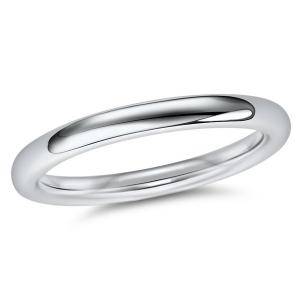 2.3mm Wedding Ring in 18ct WG Size L