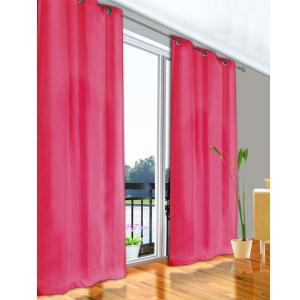 S2 Ultrasol Curtain Eyelets Microfibre 3 Pass Block Out - Fuschia