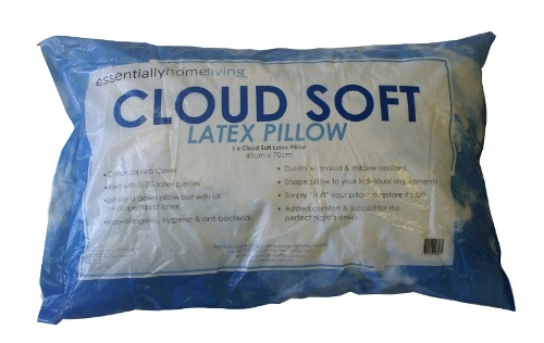 Essentially Home Living Cloud Soft Latex Pillow