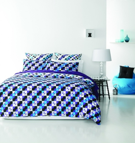 Retro Home Piccadilly Quilt Cover Set - Queen Bed