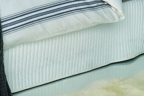 Ardor Boudoir Classic Quilted Valance - Queen Bed