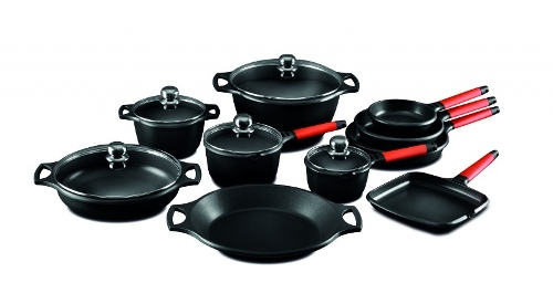 Fundix Induction Cookware Set (15 pieces)