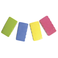 Inspire Magnetic Coloured Erasers Large