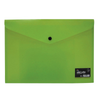 Mini Cube A4 Domed Wallet Green