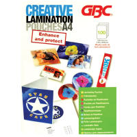 Creative Laminating Pouch A4 125 Micron 100 Pack