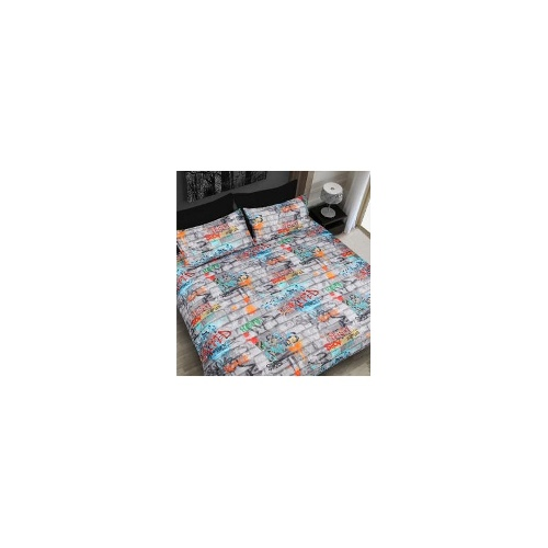 Graffiti Fluro Quilt Cover Set