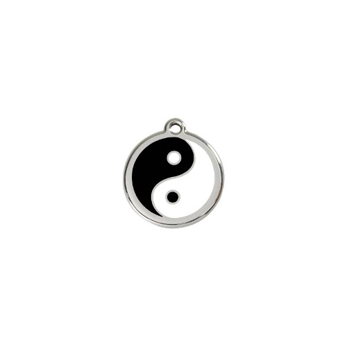 Stainless Steel ID-Tag Ying and Yang LGE