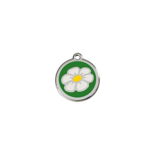 Stainless Steel ID-Tag Daisy Green LGE
