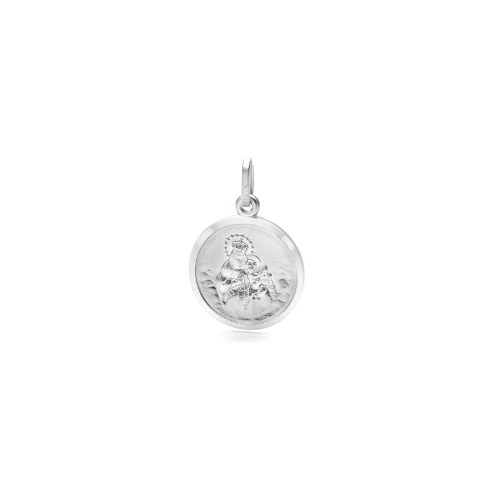 Sterling Silver Mary of Carmel Medal