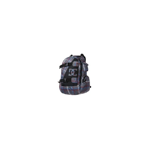 DC Shoes Wolfbred Backpack (For Men) - PEWTER/PLAID 1 ( O/S )