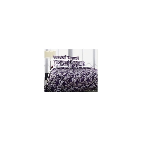 King Bed 6 Pc Comforter Set Boston Plum