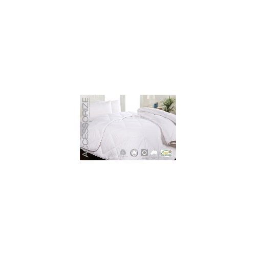 450gsm Washable Australian Wool Quilt - Double Bed