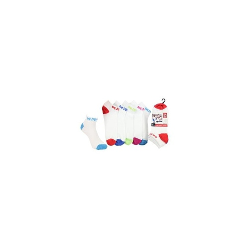 One Direction Sock One Direction Jacq Ank 5pk Size 2-8