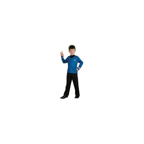 Star Trek Movie Blue Shirt Child Costume Medium