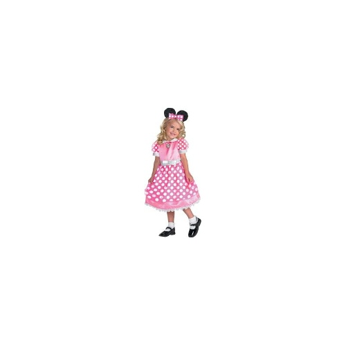 Minnie Mouse Pink Toddler / Child Costume 3-4T
