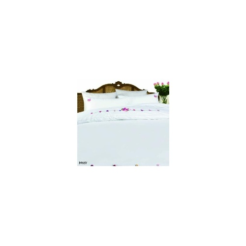 Queen Bed 9 Pc Bed Bundle Set - Pansy