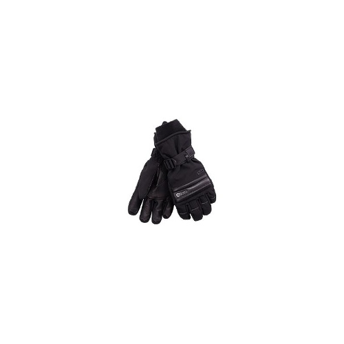 Grandoe Rush Gloves - Waterproof, Insulated (For Men) - BLACK ( M )