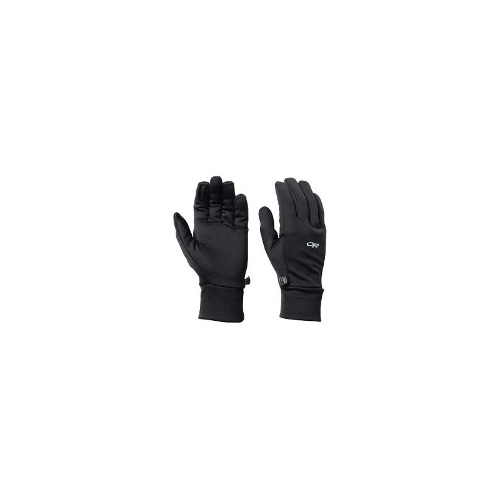 Outdoor Research PL 100 Fleece Gloves (For Men) - PEWTER ( XL )