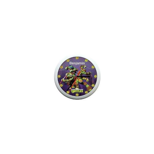 Personalised Teenage Mutant Ninja Turltles Wall Clock