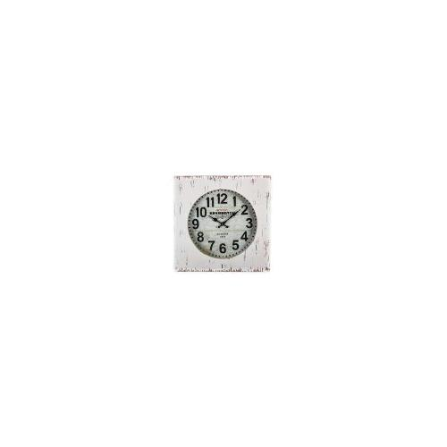 Station Kensington Round Face Square Wall Clock