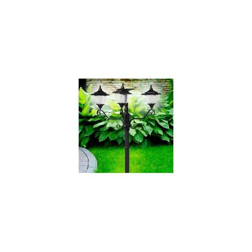 Solar Powered Street Lamp with Planter