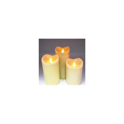 Flameless candles -3 pack automatic switch on and off