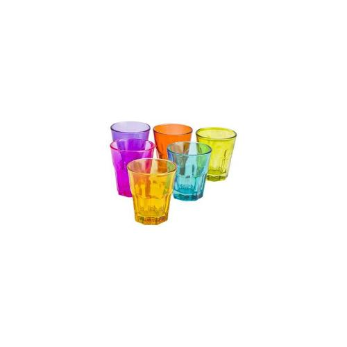 Coloured Shot Glass Set of 6