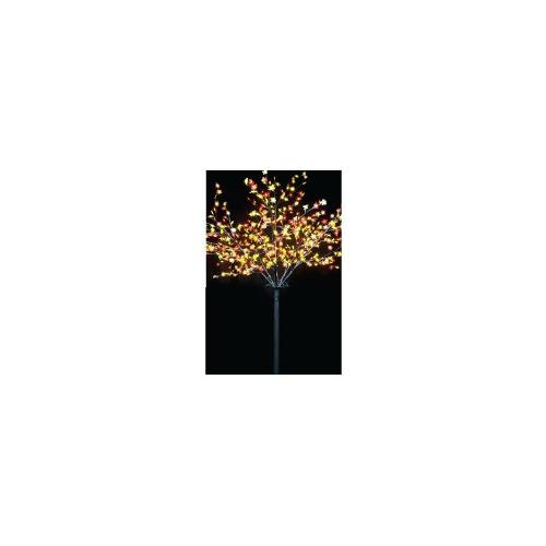 Christmas 2.5m LED Maple Tree - Yellow and Red