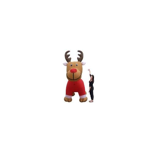 Christmas 3m Air-powered Reindeer with Shirt