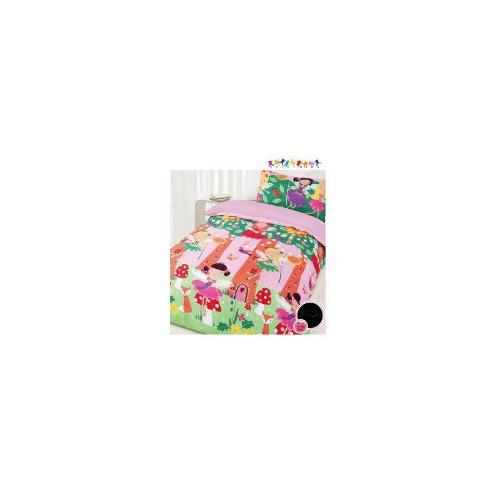 Fairy Tree Glow in the Dark Quilt Cover Set - Double Bed