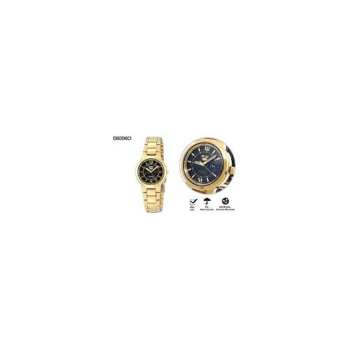 SEIKO 21 JEWELS Ladies Automatic Self Winding Gold Metal Watch SYME78K