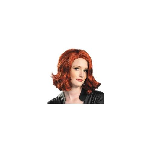 The Avengers Black Widow Wig Adult
