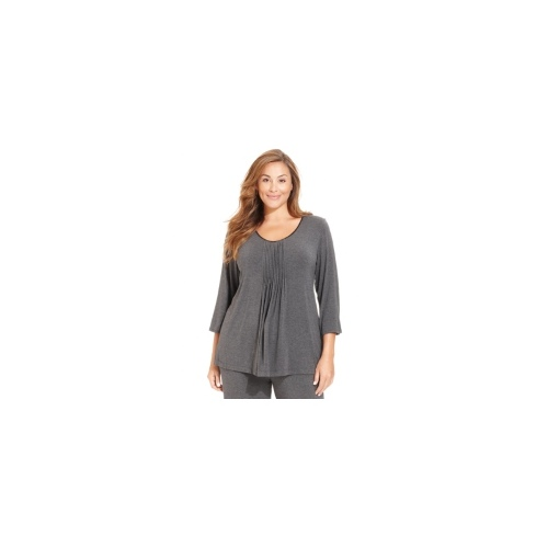 DKNY Plus Size Pajamas, Seven Easy Pieces Top
