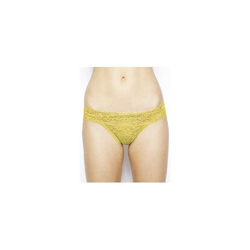 Bjorn Borg Love All Lace Thong - Yellow iris