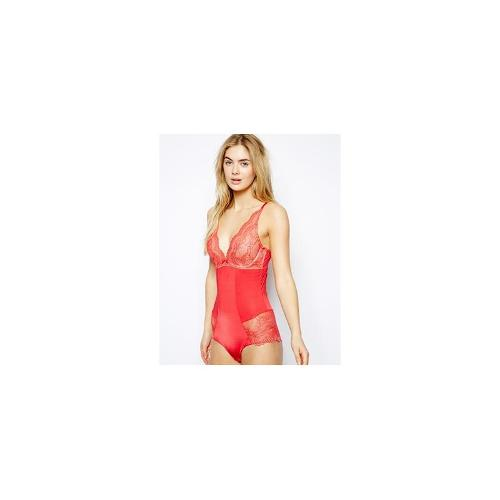 Gossard Superboost Lace Deep V Body