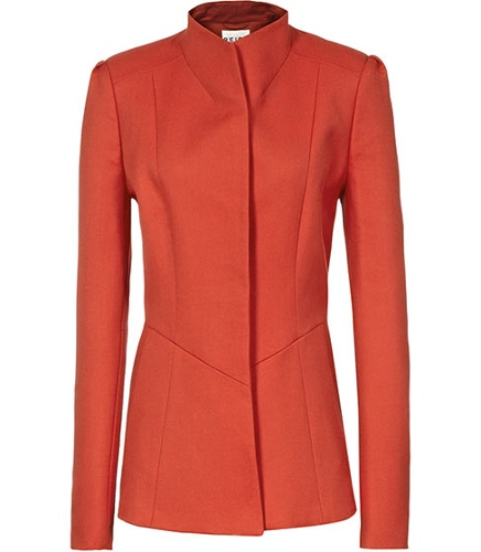 Reiss Avanti Pip FLARED SINGLE BREASTED COAT