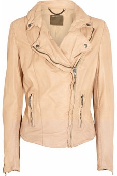Monteria leather biker jacket