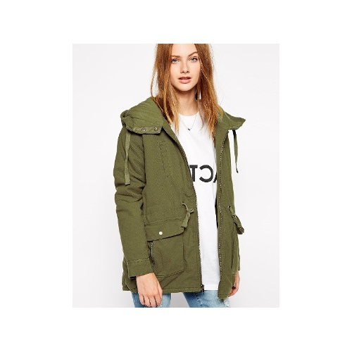 Camp Out Jacket With Hood