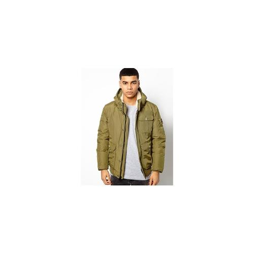 Penfield Hanford Short Down Jacket - Green