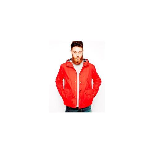 ASOS Hooded Jacket - Red