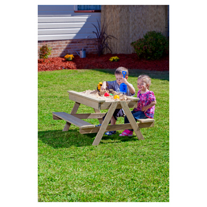 Action Wooden Picnic Table Sand Pit
