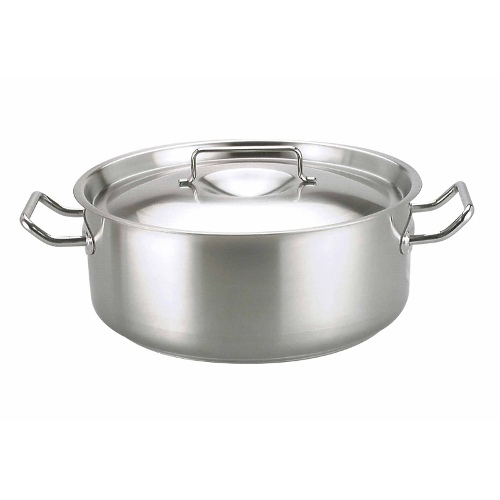 Casserole | Capacity: 7.25Lt by Chef Inox Elite