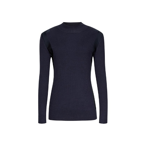 Reiss Ouze KNITTED JUMPER WITH SIDE INSERT