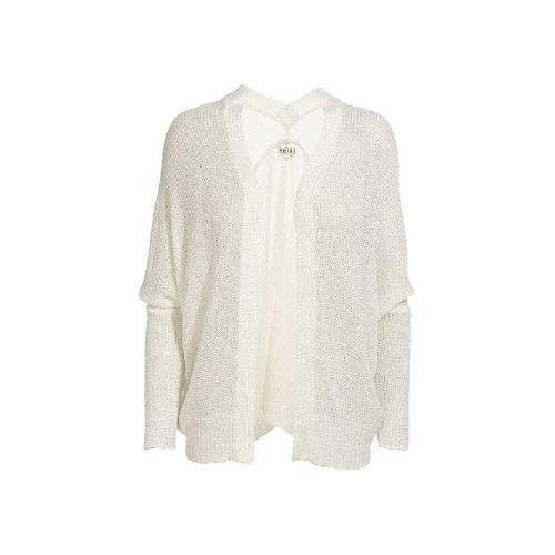 Reiss Link FINE GG SHEER SEQUIN COVER UP