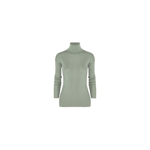 Cashmere and silk-blend turtleneck sweater