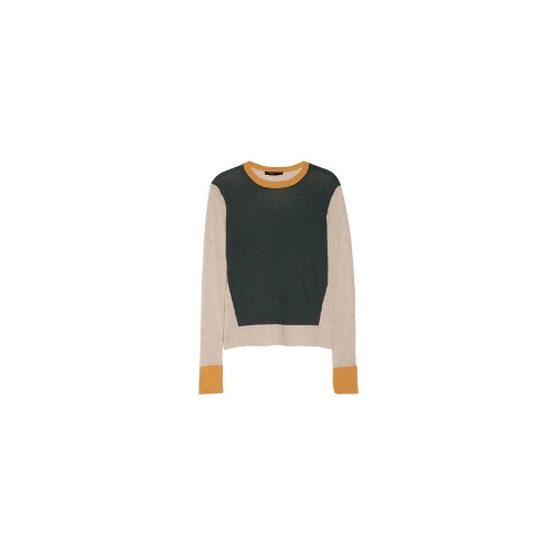 Kent fine-knit cashmere and silk-blend sweater