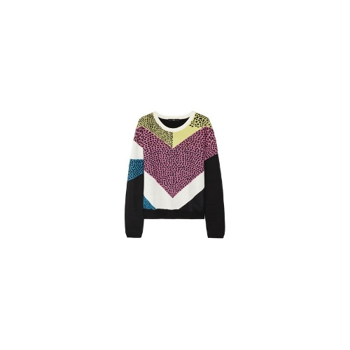 Nelio cotton and modal-blend sweater