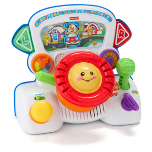 Fisher-Price Rumble & Learn Driver