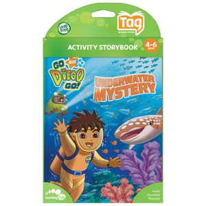 LeapFrog Tag Activity Storybook - Go Diego